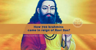 How 700 brahmins came in reign of Ravi Das